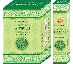 Ayurvedic Patchouli Masala Incense Sticks