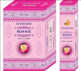 Ayurvedic Rose Masala Incense Sticks